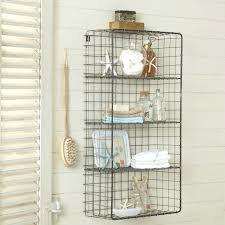 attractive iron wire open wall mount shelves white wooden wall wooden window blinds bathroom wall cabinet