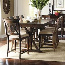 pub dining table and chairs pertaining to legacy classic thatcher 9 piece set with x shaped details ideas 17