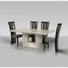 modern dining room tables and chairs. Mozart - Modern Marble Dining Set Room Tables And Chairs
