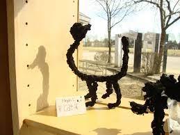 Thomas Elementary Art: 5th Grade Sculptures ala Alberto Giacometti