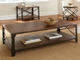 rustic iron coffee table for marvelous creative of rustic wood and iron coffee table coffee tables