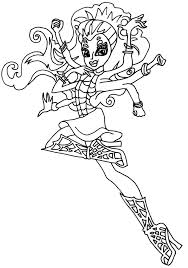 Small Picture Coloring Pages Free Printable Monster High Coloring Pages Great