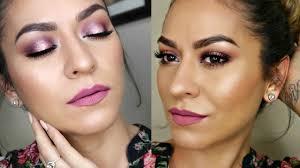 mannymua x makeup geek palette makeup tutorial spring halo smokey eye for hooded eyes you
