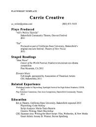 Playwright Resume Template Sample - http://resumesdesign.com/playwright- resume-template-sample/ | FREE RESUME SAMPLE | Pinterest | Free resume  samples