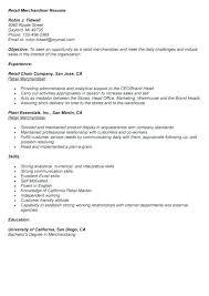 Merchandising Resume Visual Merchandising Resume Sample Visual Merchandising Resume