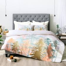 forest bedding set eye catching forest green
