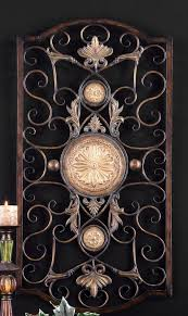 large tuscan decor scroll wrought iron metal wall grille grill wall art plaque tuscan on wrought iron metal wall sculpture art with large tuscan decor scroll wrought iron metal wall grille grill wall