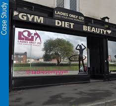 las only gym one way privacy using window