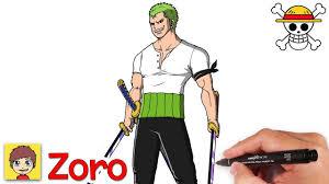 Cách vẽ Zoro cực ngầu - One piece - Vẽ Anime - YouTube