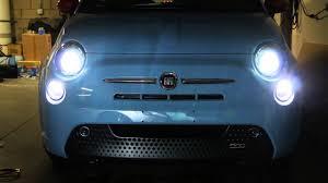 Fiat 500x Led Lights Fiat 500 Xenon White Led Daytime Running Light Bulbs