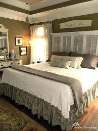 country themed bedroom country themed bedroom shutter headboards country best bedrooms ideas rustic bedroom french country