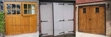 side hinged wooden garage doors wooden garage doors made to order