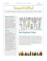 Education Newsletter Templates Smart Edpad Newsletter Template
