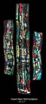 fused glass by john anderson slumped