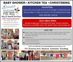 Kitchen Tea Game Parties Kiddi Care Academy