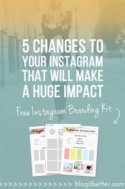 5 Changes To Your Instagram Account That Will drastically increase ...