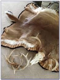 elk skin rug magnificent deer skin rugs how to make area rug ideas