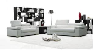 j m furniture soho white leather sofa loveseat with adjustable headrests sofa set 2 pcs reviews