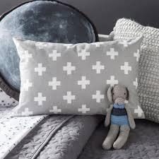 Mack & Milo™ Avery Cross Cotton Lumbar Pillow | Wayfair
