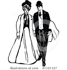 Couple Clipart 1121127 Illustration By Prawny Vintage