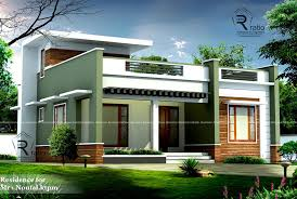 contemporary single floor house with 3