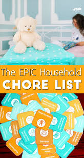 How To Raise Cleaning Machines An Epic Household Chore List