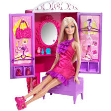 barbie dress up to make up closet doll dolls with accessories home18