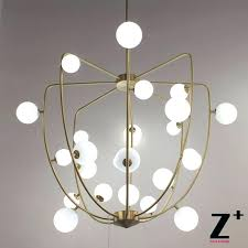replica item cherry cage led chandelier in chandeliers from lights lighting on group lindsey adelman
