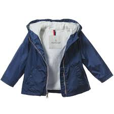 ... Showerproof Jacket · MONCLER Baby Boys Blue Lightweight Showerproof  Jacket1