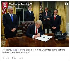 Barak obama oval office golds Resolute Desk As Soon As Trump Entered The Oval Office People Immediately Noticed Big Difference From Obama Tea Party News Tea Party As Soon As Trump Entered The Oval Office People Immediately Noticed
