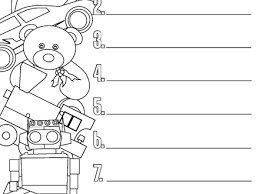 6 Christmas List Coloring Page Pages Christmas Wish List Coloring