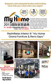 Small Picture My Home 2013 at Singapore Expo Rezt Relax Interior Design