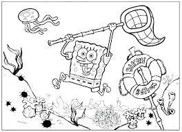 Spongebob Squarepants Coloring Pages Online Coloring Pages Free