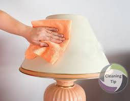 How To Clean Lamp Shades Magnificent How To Clean A Lamp Maids By Trade