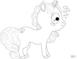 Disegno Di Unicorno Dei Cartoni Da Colorare Disegni Da Colorare E