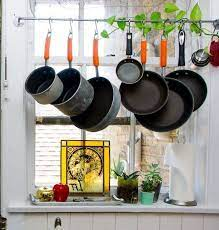 pot rack kitchen hanging pots