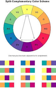 split complement color Choosing one color and using the color of its  complements on the color wheel | COMD 102 - Spring 2016 | Pinterest | Color  wheels, ...