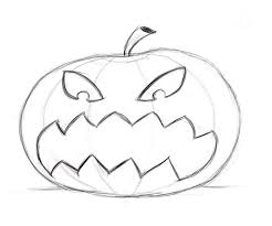 pumpkin drawing. full size of coloring page:fancy how to draw pumpkin drawing faces 18 page large