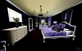 Black And Purple Bedroom Ideas
