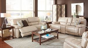 reclining living room furniture sets. Cindy Crawford Home Auburn Hills Taupe Leather 5 Pc Reclining Living Room Reclining Living Room Furniture Sets T