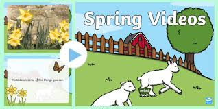 Spring Powerpoint Spring Video Powerpoint