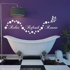 relax bathroom bubbles en suite wall art sticker  on stencil wall art quotes with relax bathroom bubbles en suite wall art sticker quote decal stencil