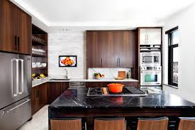 Kitchen Redo Designers Kitchen Redo Pairs Sleek Function Relaxed Lifestyle