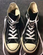 converse black high tops. converse all star shoes black high tops size men\u0027s 5.5 women\u0027s 7.5 converse black m