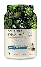 PlantFusion <b>Complete Plant</b> Based <b>Protein</b> Powder, <b>Cookies</b> N ...