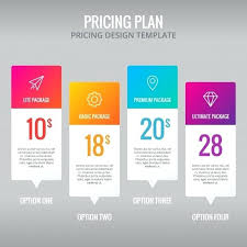 Plans And Pricing Template For Product Comparison Word Chart Best ...