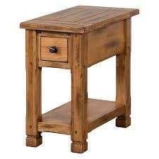 Sunny Designs 3133ro Sunny Designs Sedona 1 Drawer Chair Side Table Walmart Com