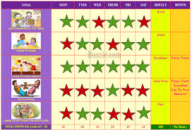 table chart for kids. Behavior Chart Table For Kids