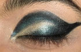 dramatic cut crease arabic eye makeup tutorial with deled steps and pictures