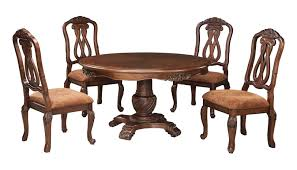 Ashley Furniture Kitchen Table Set Buy Ashley Furniture North Shore Round Dining Room Pedestal Table